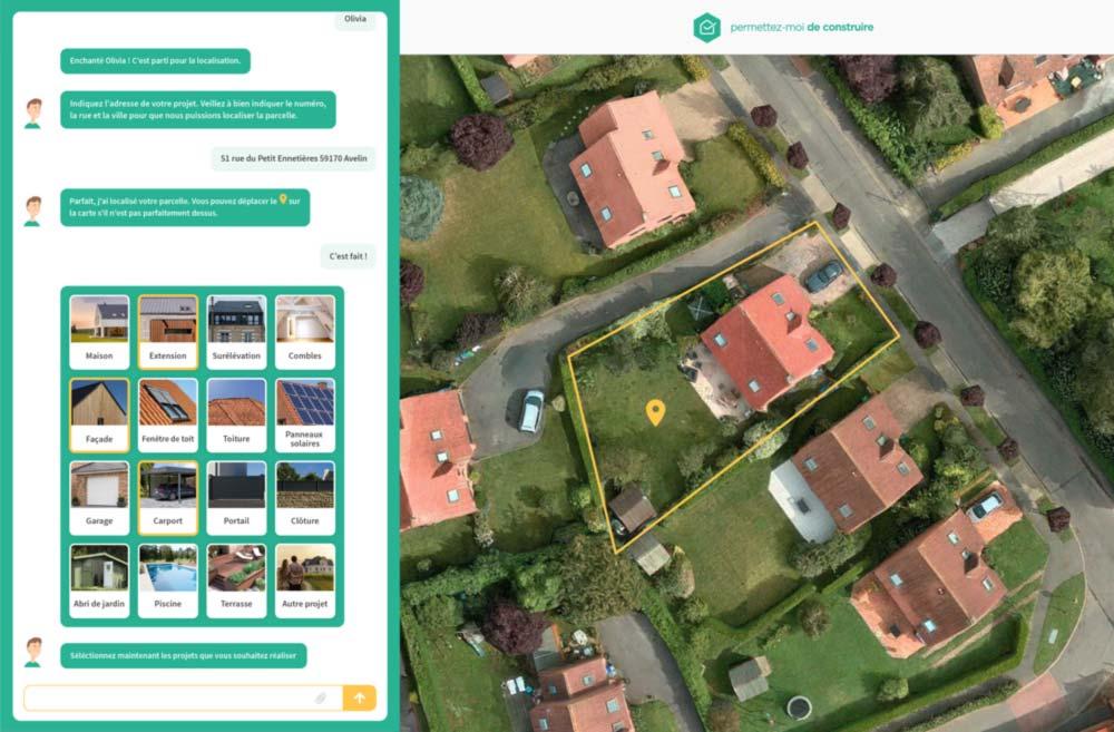 Illustration de notre outil interactif